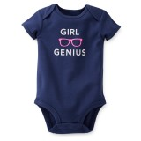 "Боди ""Girl genius"" Carter's"