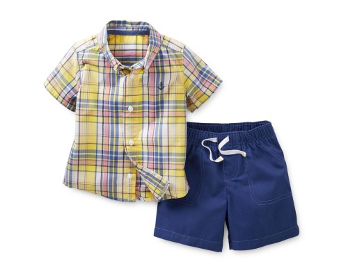"Комплект 2в1 ""Plaid"" Carters"