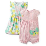 "Комплект 3в1 ""Dress&romper set butterfly"" Carter's"